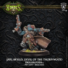 Trollblood Warlock Devil of Thornwood Jarl Skuld